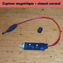 Capteur magnétique, approche d'un Aimant