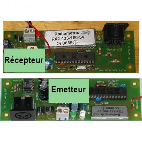 Midi HF 433 MHz