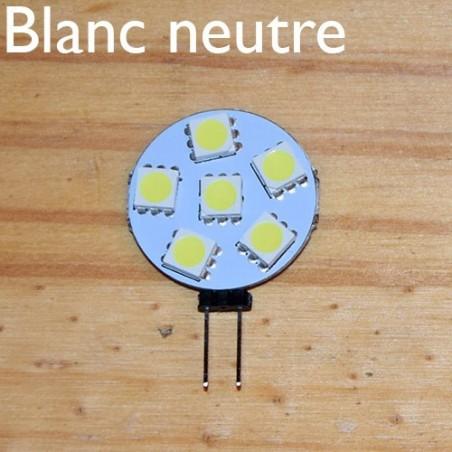 Ampoule LED 12V blanc neutre, éteinte