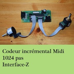 Codeur incrémental Interface-Z - Capteur de Rotation 360°