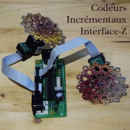 Codeusr incrémentaux - Carte codeur, codeur supplémentaire et objet en rotation