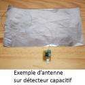 Détecteur capteur capacitif