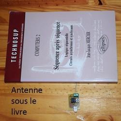 Détecteur capacitif, capteur dissimulé dans un objet