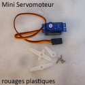 Mini Servo plastique + accessoires