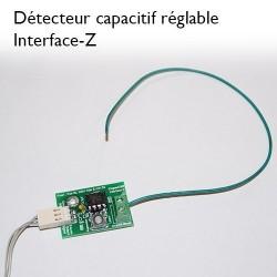 Détecteur capacitif, connectique analogique