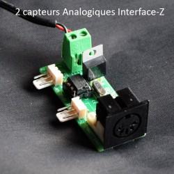 2 capteurs Analogiques Midi