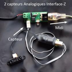 2 Analogiques Midi + Proximètre (distance)