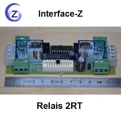 Carte fille On/Off - Relais 220V 2RT