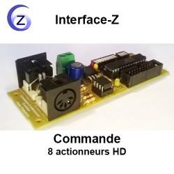 Commande 8 Actionneurs HD
