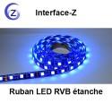 Ruban LED RVB étanche