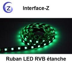 Eclairage Ruban LED RVB étanche