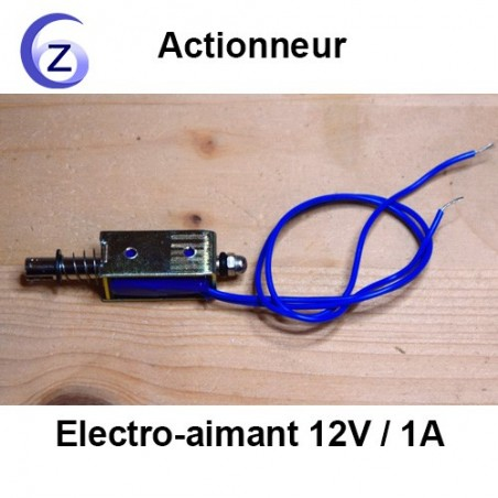 Electro-aimant 12V - Actionneur percuteur