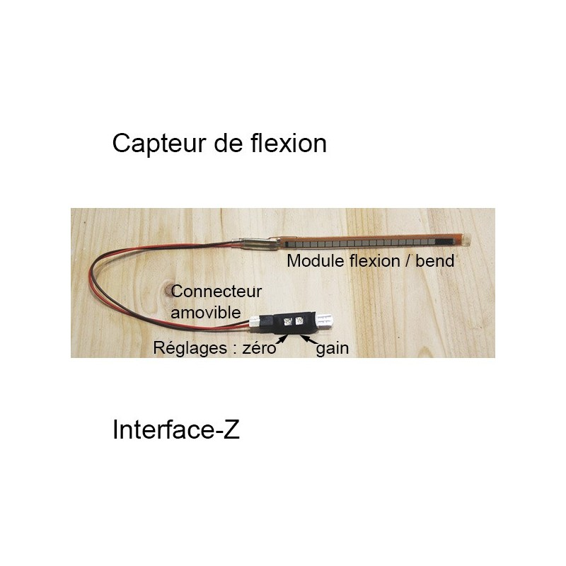 Capteur de Flexion / Bend Interface-Z