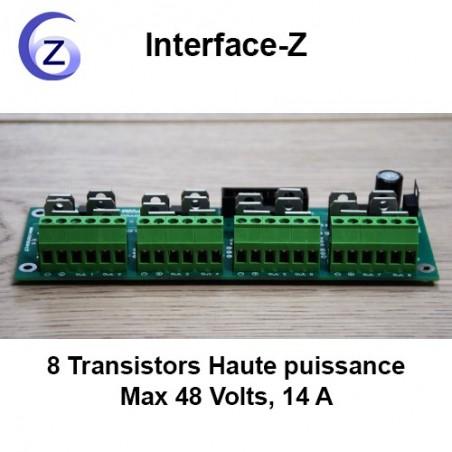 Gradation - 8 Transistors Haute puissance