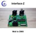 Midi to DMX, conversion de protocoles pleine résolution