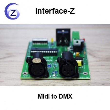 Midi to DMX