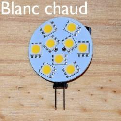 Ampoule LED 12V blanc chaud, éteinte