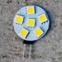 Ampoule LED 12V 1 Watt, blanc doux