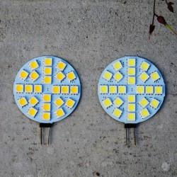 Lampes LED 12V 6 Watts, deux couleurs