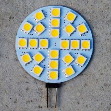 Ampoule LED 12V 6 Watts, blanc chaud doux