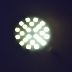 Lampe LED 6 W derrière une feuille de papier