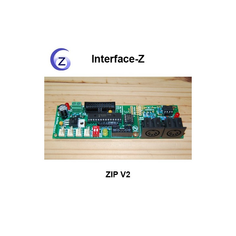 ZIP 2 - Carte Interface-Z pour installations interactives