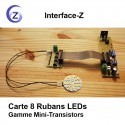 Carte ruban - gradation PWM led