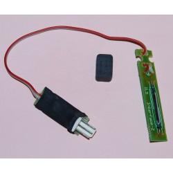 Ampoule magnétique - Connectique 3 points - Aimant carré (ancien modèle)