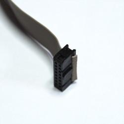 Connectique câble en nappe 16 fils plats