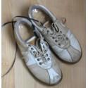 Chaussures équipées de zones de tapis sensitif