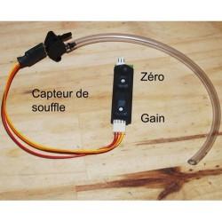 Souffle / Pression atmosphérique, capteur physio ou météo