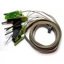 Lamelle longue - Câble en nappe 16 fils