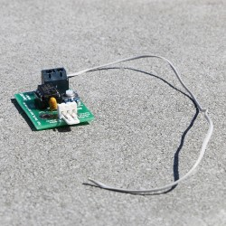 Détecteur capacitif, pour rendre sensible des objets tactiles