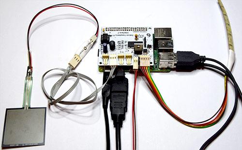 Connexions écran, alimentation, capteur, actionneurs